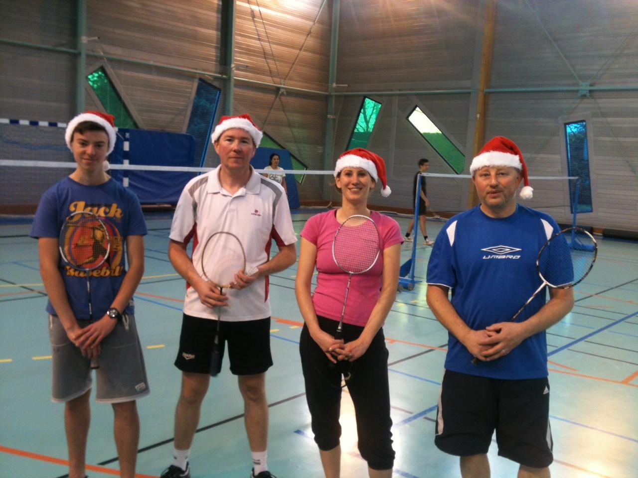 gagnant tournoi badminton Lesquin 07/12/2014