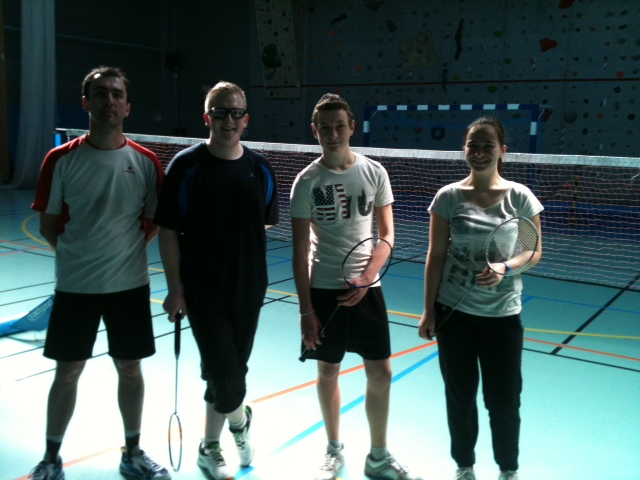 finalistes badminton 2 mars 2014 lesquin