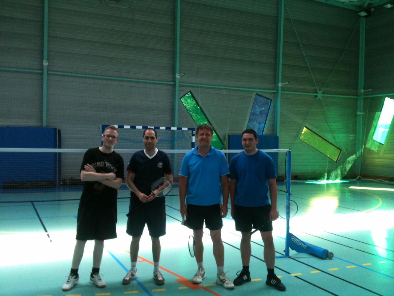 tournoi 5 avril badminton Lesquin